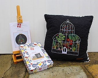 The Palm House Embroidery Kit