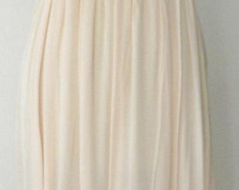 Vintage 40's Silk NIGHTGOWN