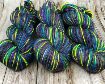 Walking in the Moonlight - Hand Dyed - Fingering Weight - Pick Your Base
