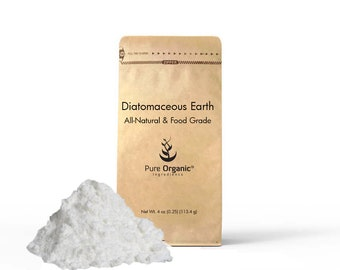 Diatomaceous Earth 4 oz (Food Grade)