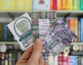 Bookish Quotes Sticker Set