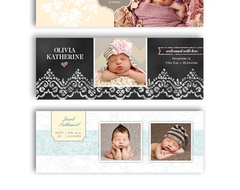 Facebook Timeline Cover - Birth Announcement  Bundle - 1015