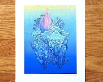 Pastel Dreamscape - Fine Art Print by Nicole Gustafsson