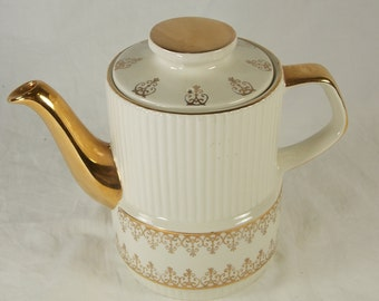 Vintage Gibsons Staffordshire of England China Teapot