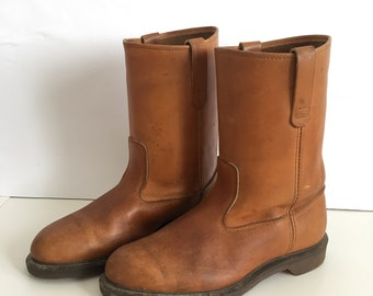 BILTRITE - Leather boots - boots - Genuine Leather -  biltrite boots - Genuine Leather boots - Vintage biltrite boots