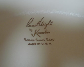"Russel Wright by Knowles, Queen Anne's Lace, 13"" Platter"