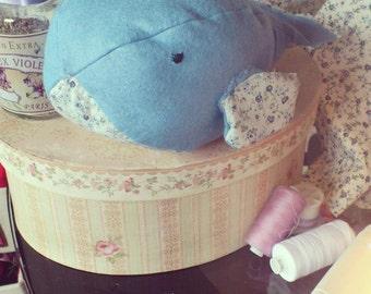 Felt Whale