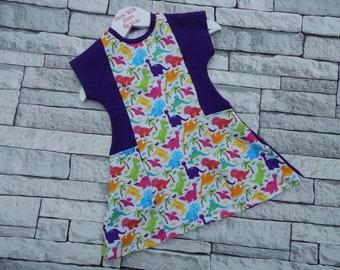 Beach Comber Dinosaur Dress with Pockets