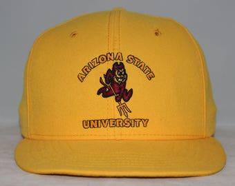 Vintage Arizona State Sun Devils NCAA Snapback Hat