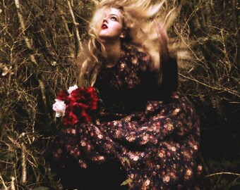 "Postcard photography art ""Autumn call me"""