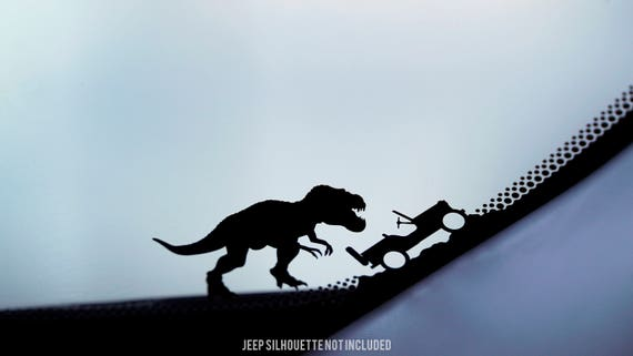 Jeep t rex sticker tyrannosaurus rex sticker dinosaur sticker