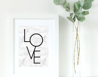 LOVE Decor Print