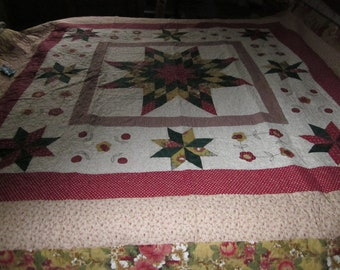 Large star quilt