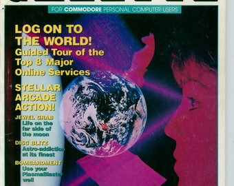 Compute!'s Gazette Magazine January 1989 Very Good