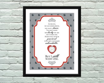 Wizard of Oz Quote Poster / Print