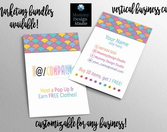 Lularoe unicorn business cards etsy mermaid scales business card ho approved bundles available buy 10 punch card colourmoves Gallery