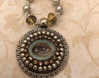 Beaded Rosary- Lover's Eye