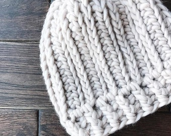 Oliver Beanie Crochet Pattern // Easy // Tutorial
