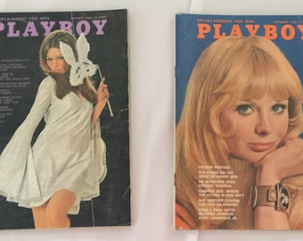 September and October 1968 issues of Playboy