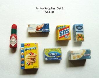 Pantry supplies   Set 2