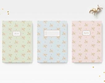 Personnalisée Cahier format A5 - Fleur d'edelweiss