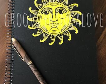 Sun Design Instant Download for Electronic Cutters silhouette cricut vinyl digital decal hippie boho chic t shirt heat transfer