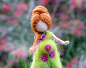 Needle felted doll, Waldorf doll, Pregnant woman, the Mother doll, fantasy doll, Art doll, needle felted doll, waldorf inspired