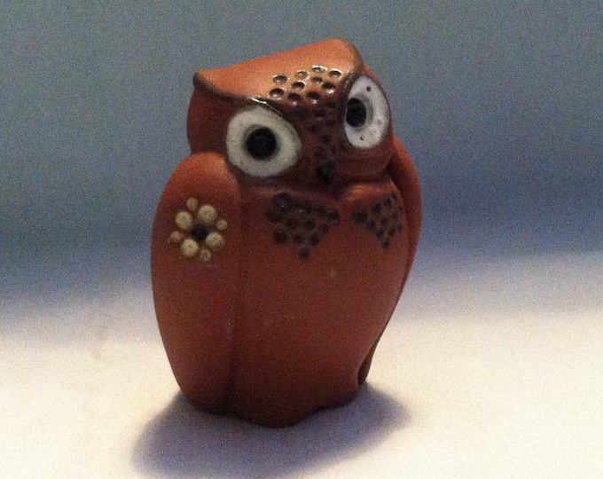 Vintage ceramic Owl beautiful deco