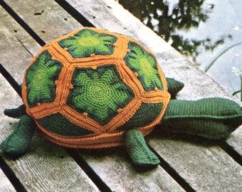 Turtle Stuffed Animal Crochet Pattern Instant Download PDF