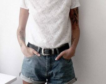 Vintage White Lace T-Shirt