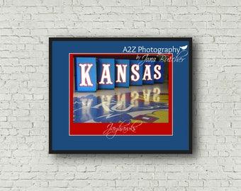 Kansas Jayhawks Fieldhouse  photography print