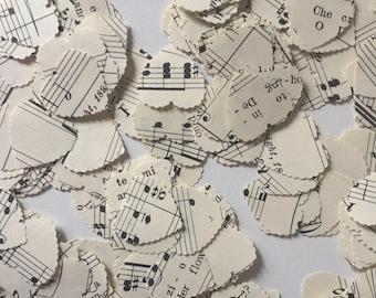 Hand Punched  Italian Sheet Music Confetti - Party Confetti - Wedding Confetti - Birthday Confetti - Christening Confetti