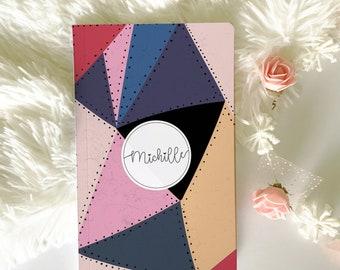 Boho Notebook, Custom Notebook, Travel Journal, Notebook Journal, personalized Journal, Custom Diary, Bullet Journal, Lined Notebook.