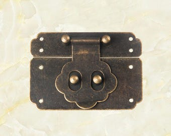 Jewelry box hasp Etsy
