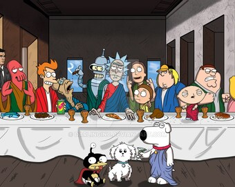 The Last Supper Or The First One In Heaven Dead Rockstars