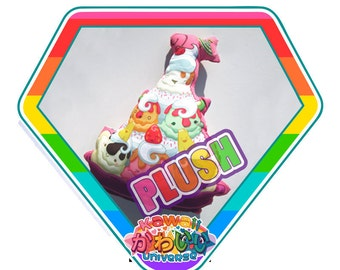 Kawaii Cute Ultimate Ice Cream Sundae Plush