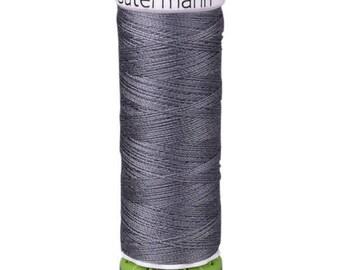 Rail Grey Gutermann Recycled Polyester Thread (GT701)