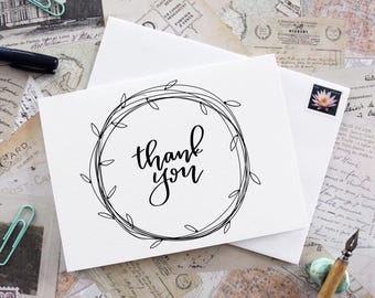 Thank You Card ( Style 10 )