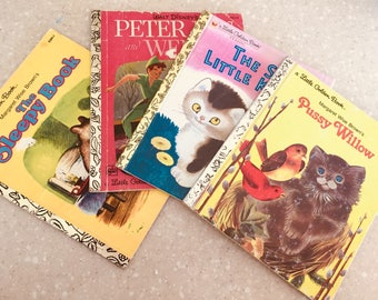 Little Golden Books x 4