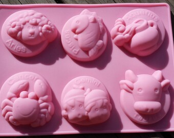 Astrological Signs Silicone Mold