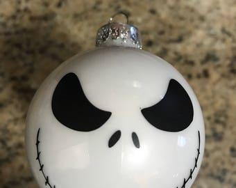 Jack ornaments, Nightmare before Xmas Keepsake Ornament, handmade ornament