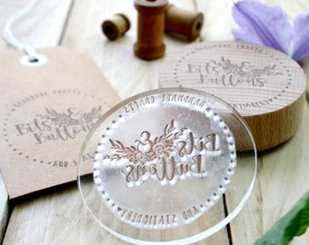 Custom Rubber Stamps - Made to Order Stamp - Custom Order Stamp - Rubber Stamps - Logo Design - Gift For Him - Gift For Her - Clear Stamps