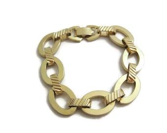 Vintage Chunky Sarah Coventry Chain Link Bracelet