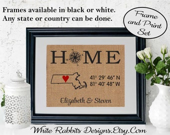 Framed Personalized Realtor Closing Gift from Realtor Gift Our First Home Gift for realtor clients Gift for Homeowner New Home gifts (5803)