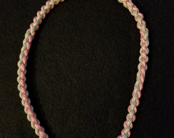 Necklace - 4 strand round braid paracord