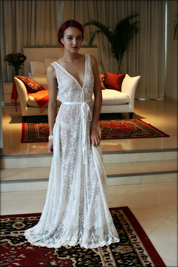 Night Gown Wedding Dress