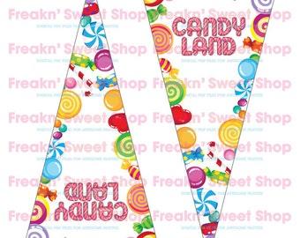 Candy Land Banner PDF file