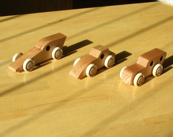 Wood Toy Cars - Group C