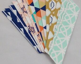 Desert Spring Fabric Washi Tape, 15 strips