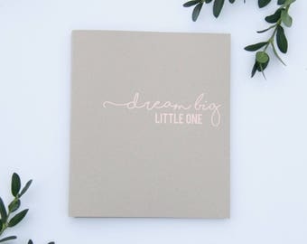 Fast Shipping > Baby Memory Book Embossed Warm Gold Foil. Rustic Baby Shower Gift, Baby Gift, Baby Shower, Baby Album, Keepsake Baby Book.